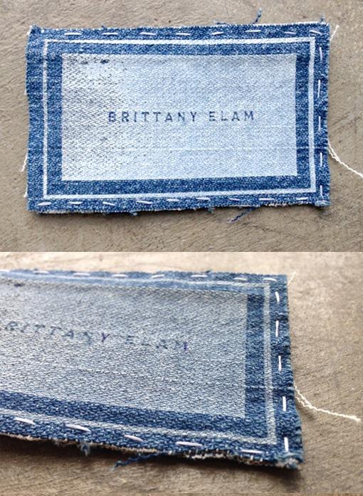 DIY Screen Printed Jeans