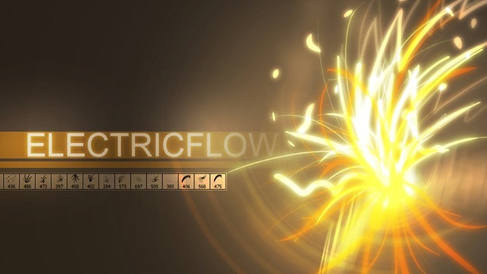 Electric Flow Brushes