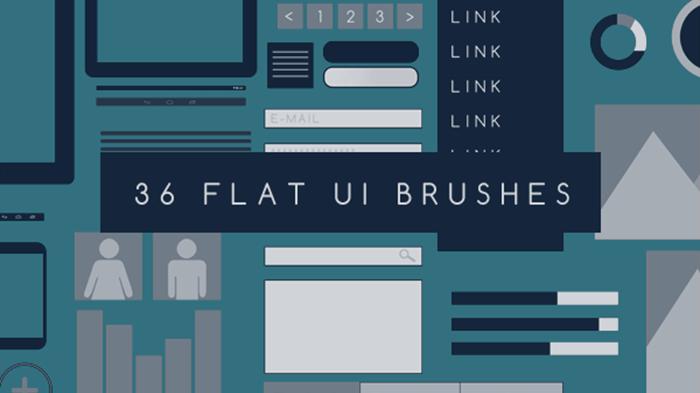 Flat UI Brushes