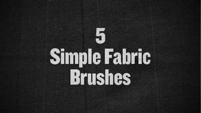 Simple Fabric Brushes