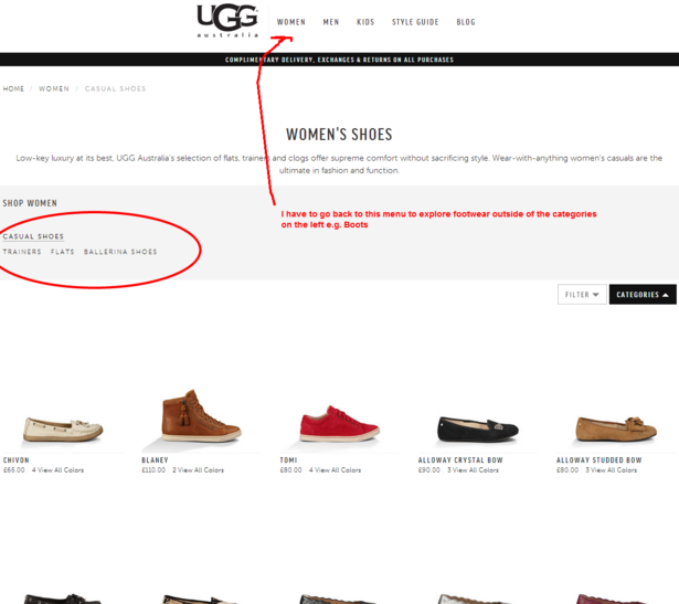 ugg products