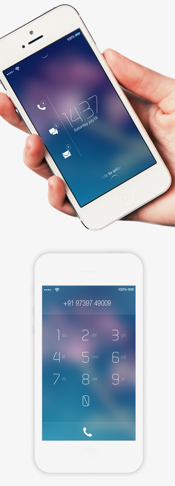 15 iOS 8 Design Concepts for Your Inspiration