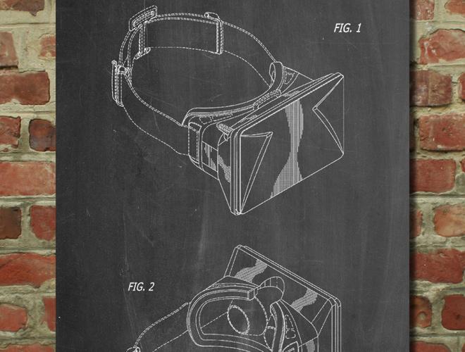 oculus rift vr goggles patent art
