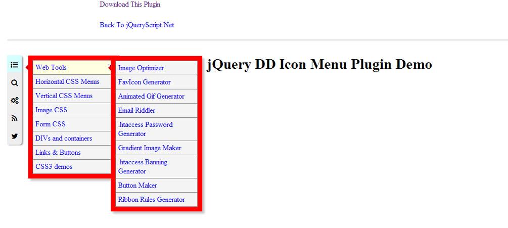 The Listed Voyage: 30 Free jQuery Navigation Menus - VipsPatel