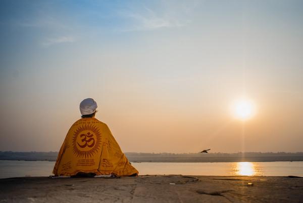 India, river, sunrise, Ganga, Ganges, Hindu