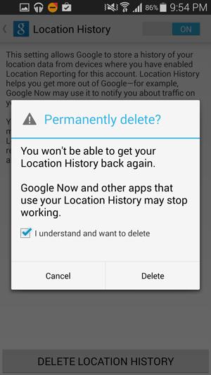 Google-Location-Delete-Android