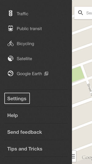 Google-Location-Maps-Settings
