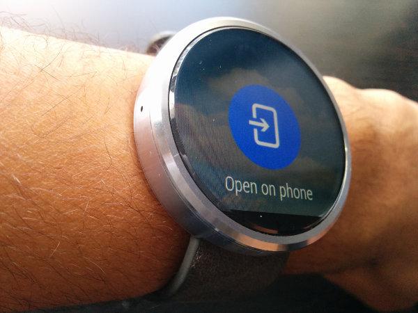 NavigateAndroidWear-Open-Phone