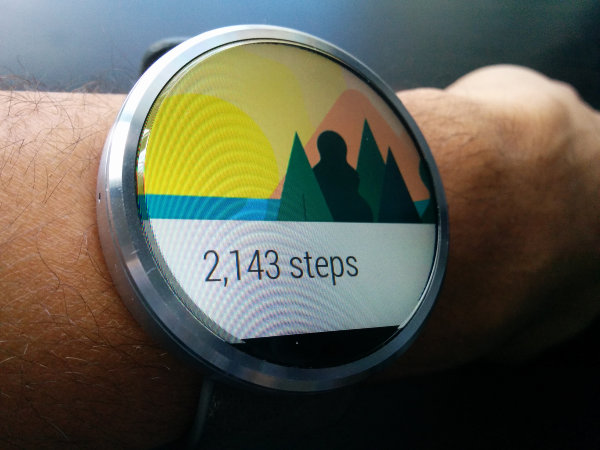 NavigateAndroidWear-Steps