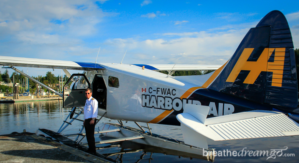 Harbour Air Seaplanes, float plane, airplane, harbour, Vancouver, water, Gulf Islands, Salt Spring Island, Beaver