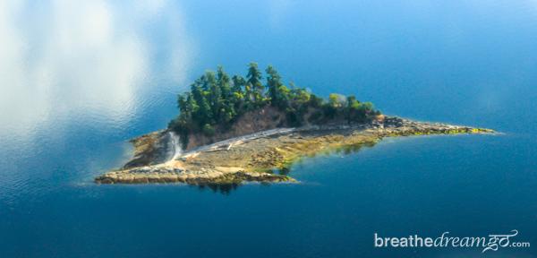 Seaplane island