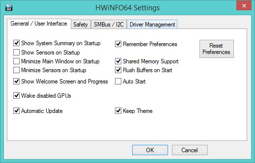 SpecID-HWiNFO-Settings