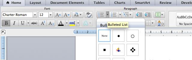 Wordcheckbox-bullets