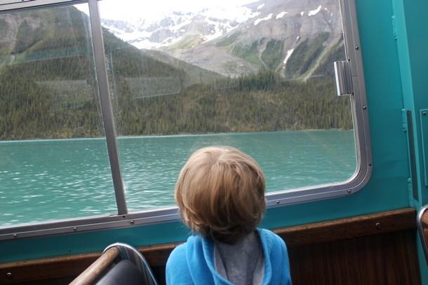 Maligne Lake in Jasper National Park, Alberta