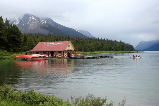 Maligne Lake, Jasper, Alberta