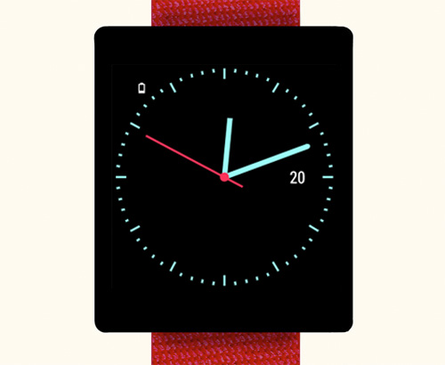 Minimalist Watch Face
