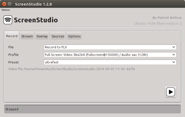 Easily Create a Screencast of Your Linux Desktop Using