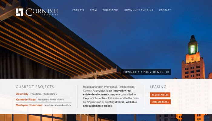 cornish associates real estate
