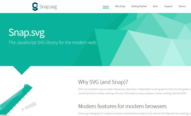 snap svg library