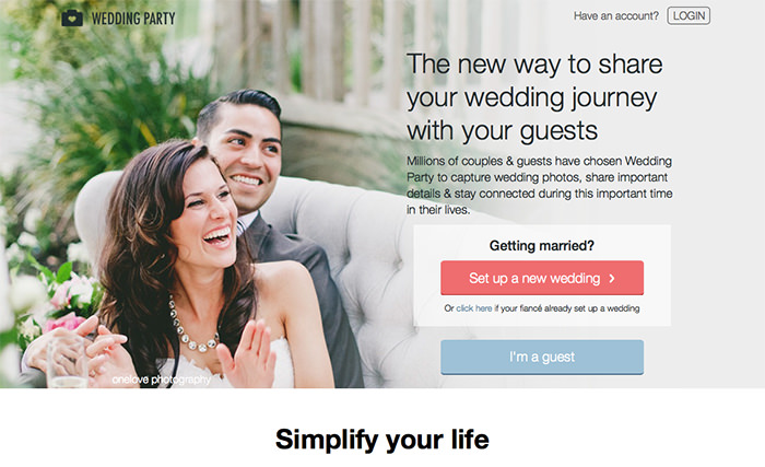 19 useful apps to plan your own wedding vipspatel wedding party app from proposal to wedding day junglespirit Images