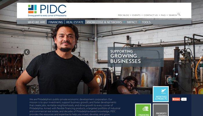 pidc philadelphia website homepage