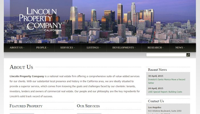 lincoln property real estate firm