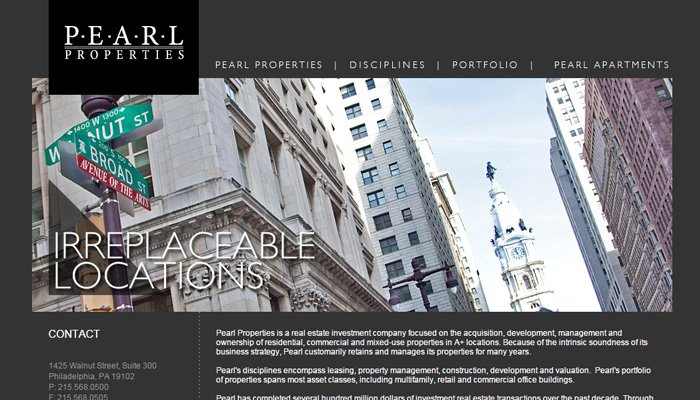 real estate dev firm pearl