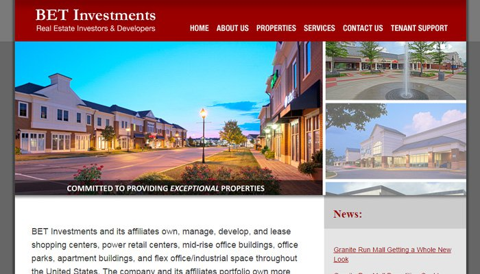 bet investments real estate