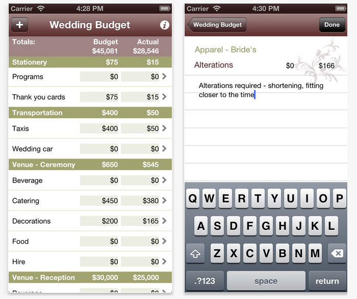 19 useful apps to plan your own wedding vipspatel