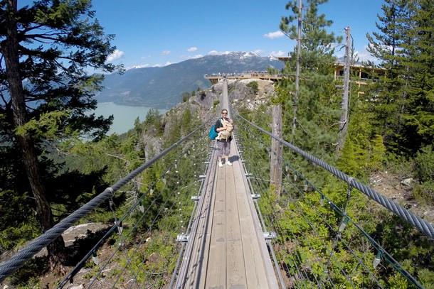Suspension Bridge, Sea to Sky Gondola, Squamish, BC