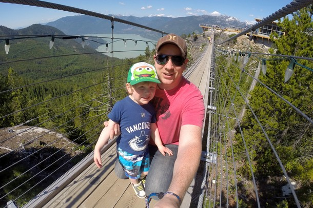 Suspension Bridge, Sea to Sky Gondola, Squamish, BC