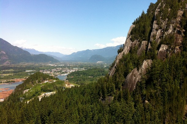 Sea to Sky Summit, Squamish