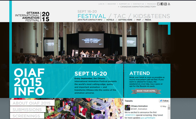 ottawa international animation conf website
