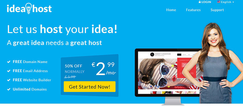 ideahost-website-builder