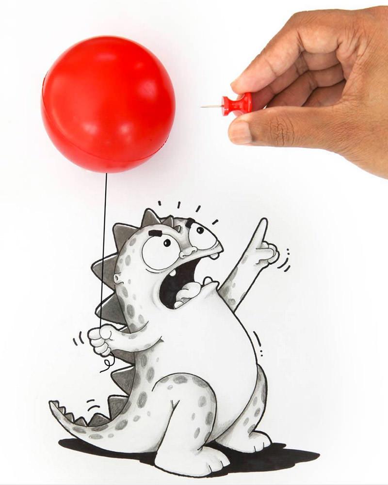 Drogo pop balloon