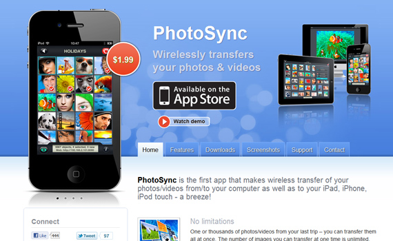 Photosync-useful-iphone-apps
