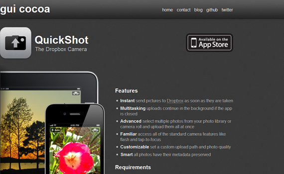 Quickshot-useful-iphone-apps
