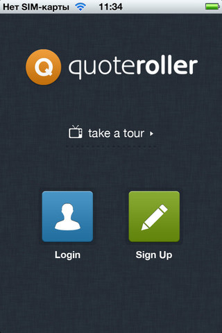 Quoteroller-mobile-app-designs