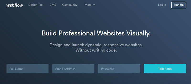 webflow-website-builder